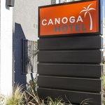 Canoga Hotel Sign