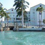 Marina hotel and boat tunnel