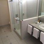 LARGE bathroom & separate loo