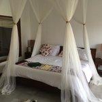 King size bed vert comfy ;)