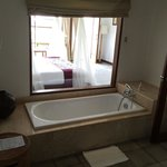 The bathtub...with a view