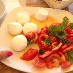 Uno dei piatti che richiedevamo spesso: l'essenziale in Campania! Tutto assolutamente di loro pr