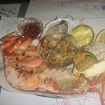 Main seafood plater