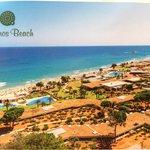 Carte postale de Kernos Beach- vue arérienne