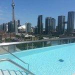 Rooftop Pool @ The Thompson Toronto