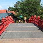 Colourful Bridge at Oriental Village
