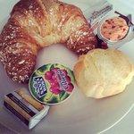 Un'abbondante colazione