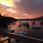 On of the beautiful sunsets cavtat gave us