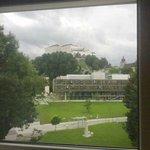Vista della fortezza dalla nostra camera (la nostra camera si trovava sul lato frontale dell'alb