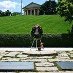 Graf John F Kennedy en zijn vrouw Jacky