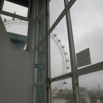 London Eye from the room window
