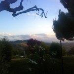 Vista dei monti Sibillini dalla Briciola