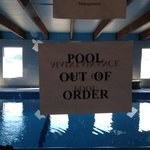 Pool out of order in our 4nights stay