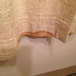 Stain on curtain