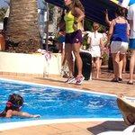 Zumba in the pool