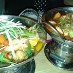 Selection of Thai curries