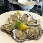 Cumbrae rock oysters chilled on the half shell