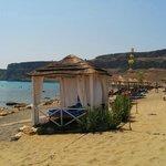 Main private hotel beach