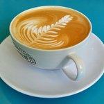 Delicious latte!