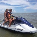 Jet ski fun at Fort Myers Beach
