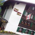 Grindelwald - Hotel Tschuggen - view from Dorfstrasse