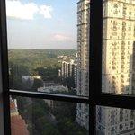 Room on 19th floor overlooking Piedmont Park
