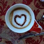Cappuccino zum Frühstück! Lecker!!!