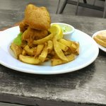 Friday nights, two fish and chip suppers for £10, normally £7.95