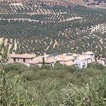 L'hacienda vue du village