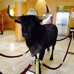 El toro de la recepción
