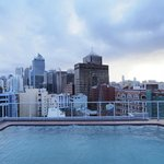 Rooftop pool - not heated