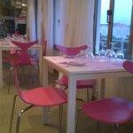 i tavolini del locale