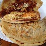 Paliadas breakfast plate