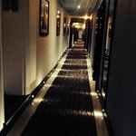 Hollywood walkway to our room ��
