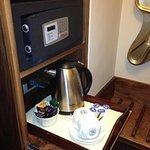 Tea making and safe
