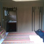 Room with ensuite in the back