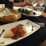 Seabass with a yummy tomato sauce and aromatic herbs