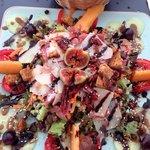 Salade du jour ultra fraîche et gourmande