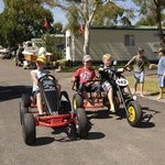 Eden Beachfront - Fun on Go Carts