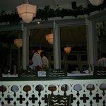Una vista de restaurant