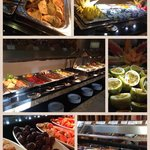 Small part of the amazing breakfast buffet