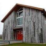 Kontokosta Winery - tasting barn entrance