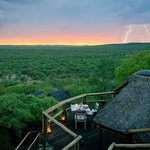 Approaching Storm at Ongava Lodge