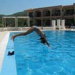 Toroni Blue Sea pool