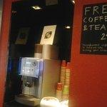 caffè e the gratuiti 24/7
