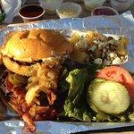 BBQ Bacon Blue Burger