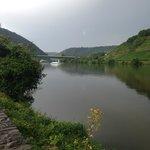 Вид из номера на реку Mosel
