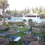 Vista piscina principale