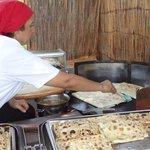 La femme qui fait a manger turc