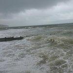 Hurricane Bertha in full swing